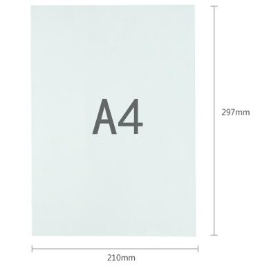 a4 300gsm plain white matte thick paper blank cardstock cardboard