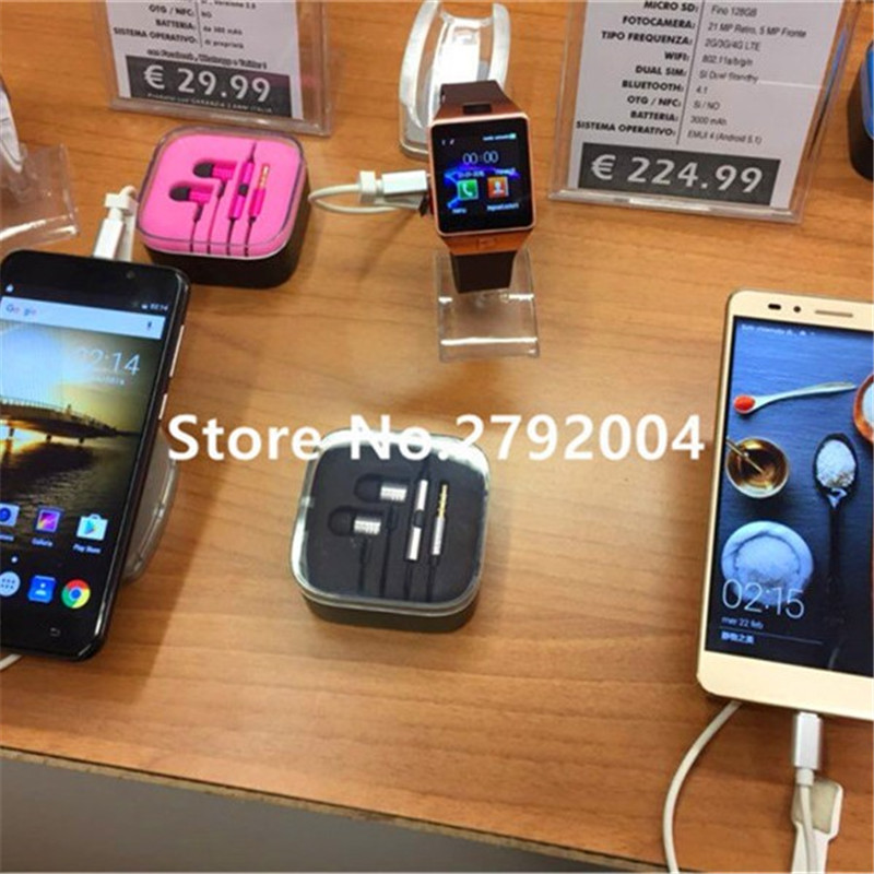 High quality 6 port anti-theft cell phone security system with alarming