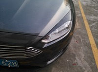 Carbon Fiber Front Headlight Cover Eyelid Sticker For Ford Focus 2015