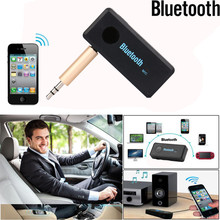Wireless Bluetooth Receiver 3.5mm Jack Bluetooth Audio Sound Music Adapter Car Aux Cable For Portable Speaker Headphone