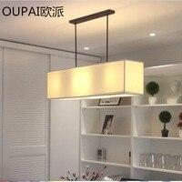 A1Retro Plain Lighting Pendant Lights Nordic NEW Modern Minimalist American Style Living Room Linen Cloth Pendant