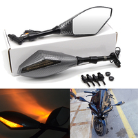 Universal Motorcycle mirror side Rearview For sv100kawasaki vn900 gsr750 virago250 polaris rzr1000 suzuki dr350 k1600gt gsf600