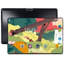 2019 Android 8,0 Octa Core 10 дюймов планшеты PC 4 Гб оперативная память 64 Встроенная 5MP Wi Fi A-GPS г LTE 2.5D Закаленное стекло ips 1280*800 10