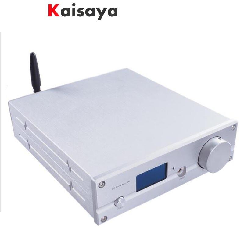 HiFi ES9038Q2M DAC Bluetooth 5.0 USB XMOS XU208 Audio Décodeur Stéréo DSD512 APTX HD De Bureau Amplificateur Avec casque Jack T0273