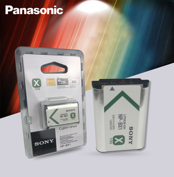 Sony Original NP-BX1 NP BX1 Camera Battery pack DSC RX1 RX100 M3 M2 RX1R WX300 HX300 HX400 HX50 HX60 GWP88 PJ240E AS15 WX350 image
