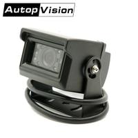 AV780 AHD Cadangan Kamera 10 Buah/Banyak Bantuan Parkir Malam Visi Tahan Air Kamera Kaca Monitor untuk Truk RV Trailer
