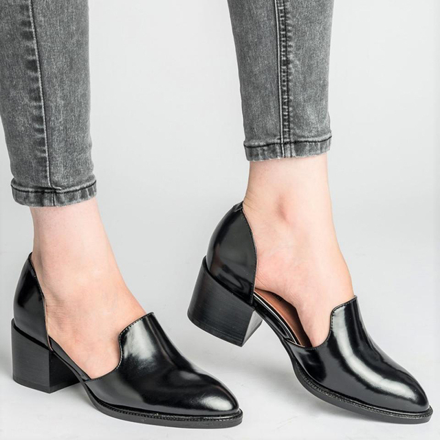Summer Leather Pumps