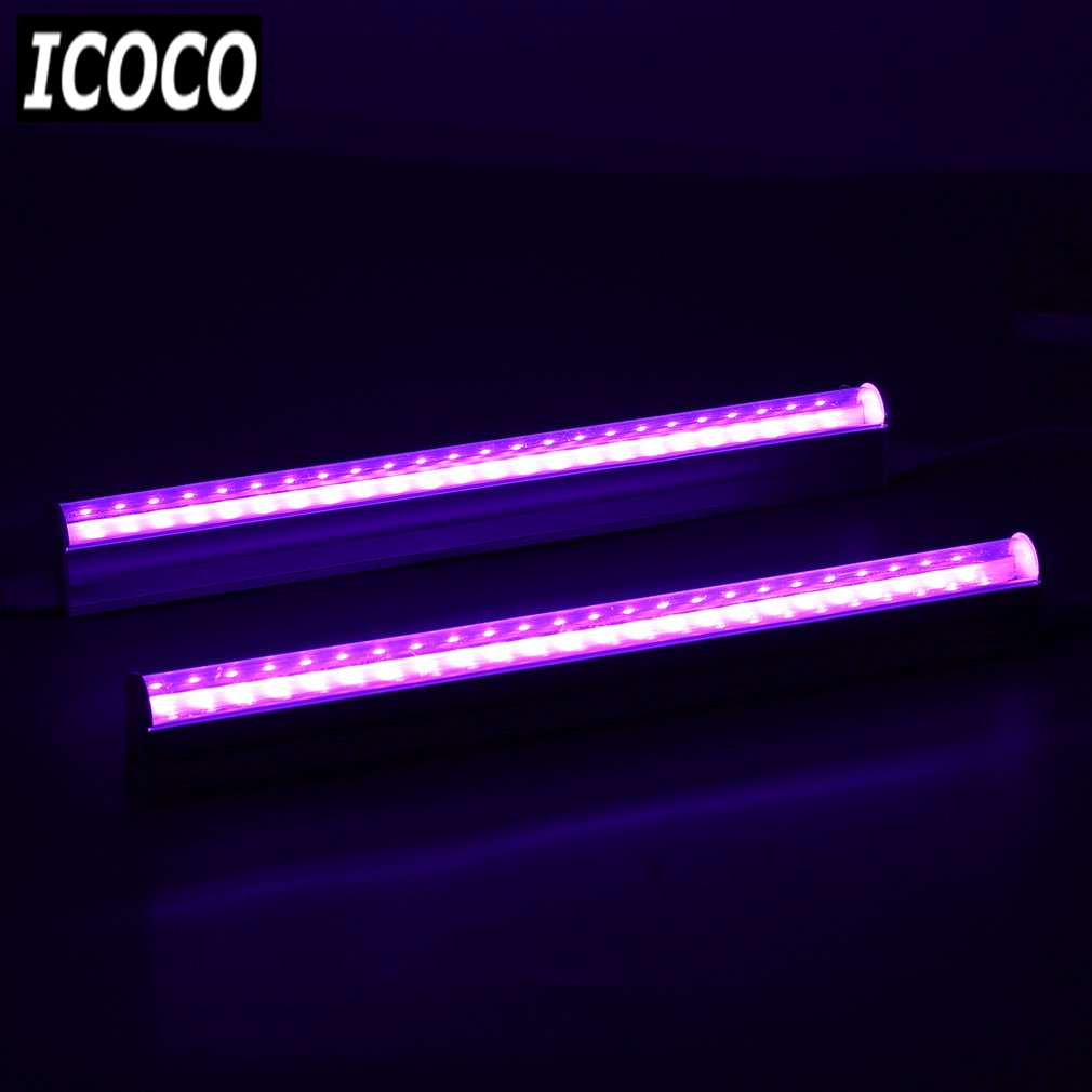 Us 18 07 30 Off Icoco 5pcs Set Led Grow Lights Full Spectrum T5 Tube Indoor Plant Hydroponic System Greenhouse Lighting Led Plants Growing Lamps In