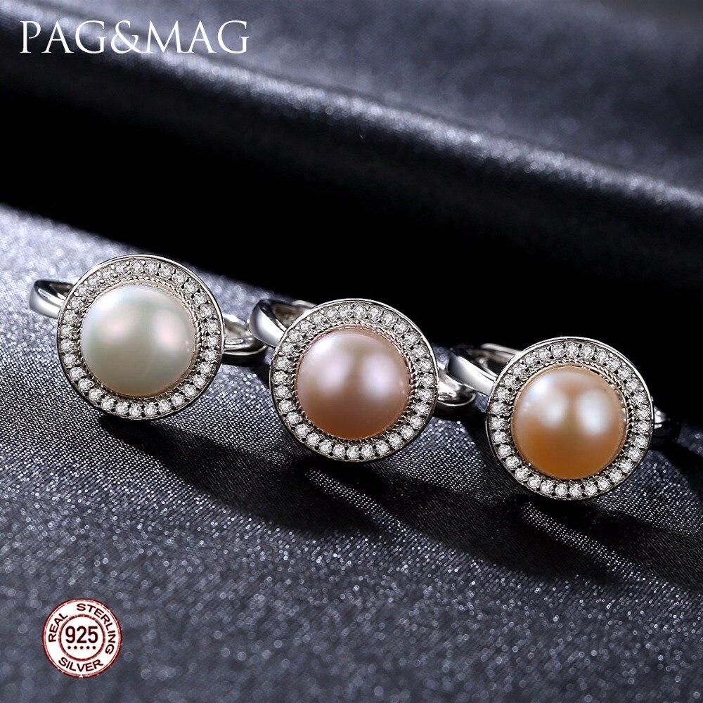PAG & MAG Märke Classic Round Disk 925 Sterling Silver Smycken En - Fina smycken - Foto 2