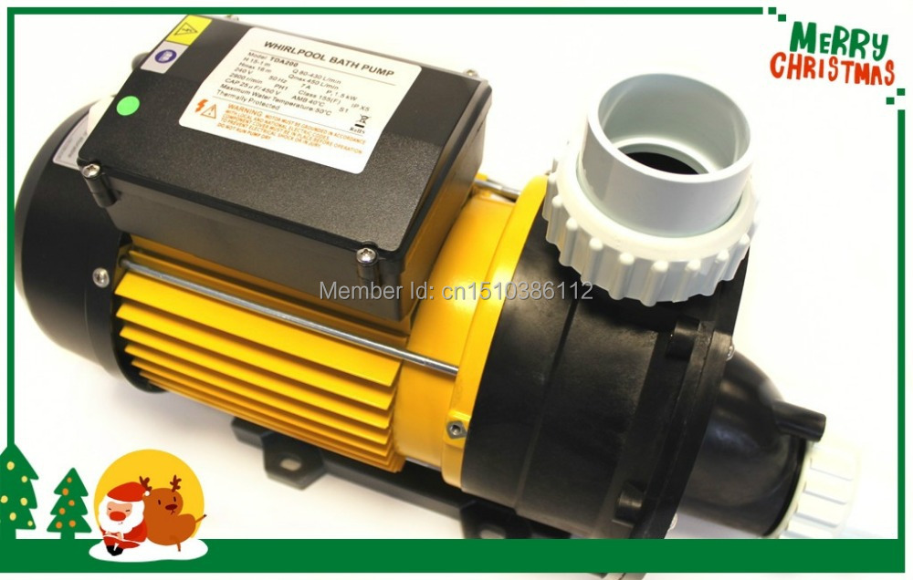 hot tub spa pool pump 1.5KW/2.0HP TDA200 Pool Pump equipment pool China Whirlpool LX TDA 200 single speed Pump - 2.0HP