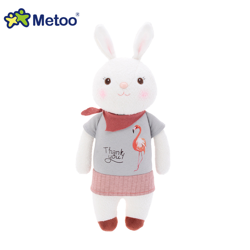 34cm Kawaii Plush Sweet Cute Lovely Stuffed Baby Kids Toys for Girls Birthday Christmas Gift Tiramitu Rabbits Mini Metoo Doll super cute plush toy dog doll as a christmas gift for children s home decoration 20