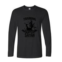 2017 Best Gift For Friend Design Men S T Shirt Dragon Ball Goku Z Funny Long