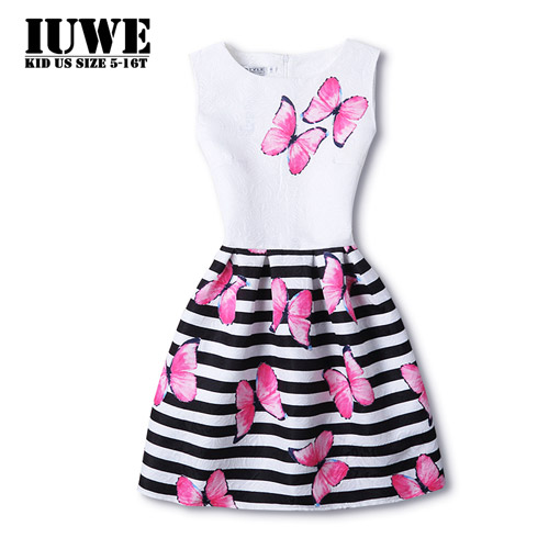 Girl Dress Summer 2017 Dresses For Girls Of 14 Years Sleeveless Big Size  Princess Dress Teenagers Girls Robe Enfant Fille 12 Ans - us304 895b445882