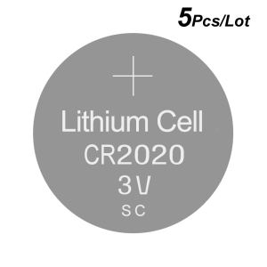 Image 1 - Lithium Button Coin Cell Battery CR2020   3V Watch Batteries 2020