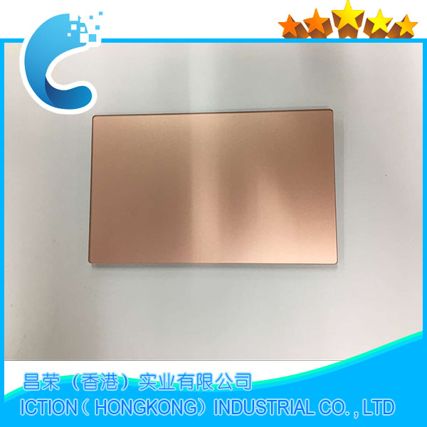 Original A1534 Trackpad Touchpad For Macbook Retina 12'' A1534 Trackpad Touchpad 2016 Rose Gold Color new silver for macbook pro retina 15 4 a1707 force touch pad touchpad trackpad