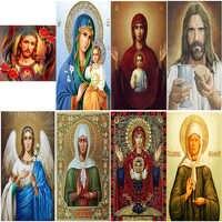 DIY Diamant malerei kreuz stich 8 Bilder von Religiöse Icon von 5d Diamant Stickerei mosaik Neue Jahr dekoration GESCHENK