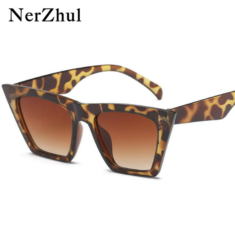 2018 Fashion <font><b>Cute</b></font> <font><b>Sexy</b></font> <font><b>Retro</b></font> <font><b>Cat</b></font> <font><b>Eye</b></font> <font><b>Sunglasses</b></font> Women Vintage Brand Designer Cateye Sun Glasses For Female Ladies UV400 image