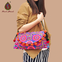 HOT SALES Ethnic Pattern Women Messenger Bags Vinatage Embroidery Brand Women Handbags Canvas Cover Small Style