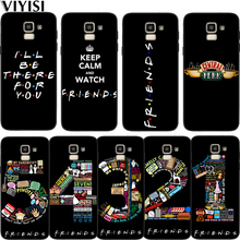 Central Perk Coffee friends tv Park Phone Case For Samsung Galaxy S10 samsung s8 S7 S9 S6 J7 J4 J6 J8 Plus Etui Coque