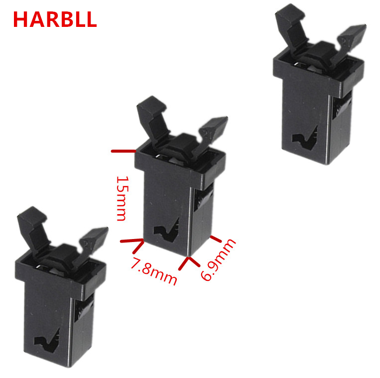 HARBLL 3PCS Car Reading Light Glasses Box Switch Spring Plastic Fasteners For JAC Heyue Refine S3 S5 TOJOY RS Binyue J6