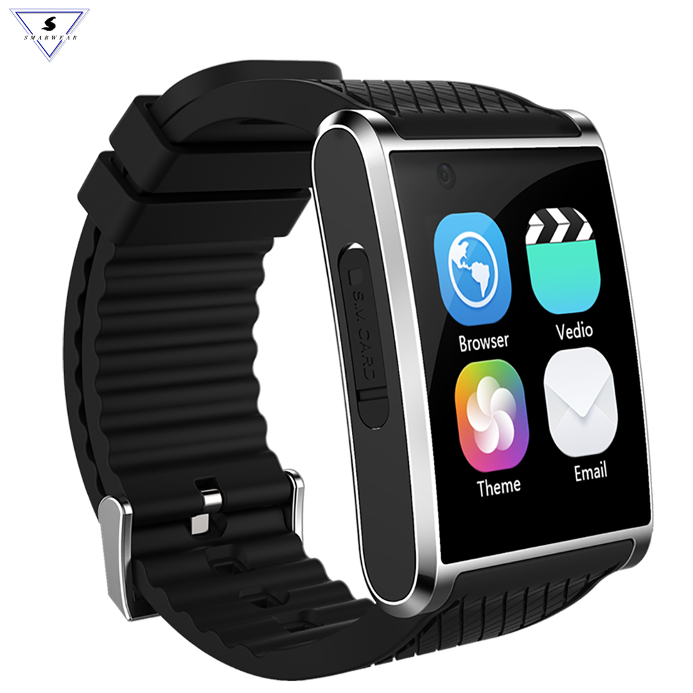 Ssmarwear X11 Bluetooth MTK6580 reloj inteligente podómetro Sleep Health Tracker reproductor de música HD Video llamada 3G SmartPhone GPS SIM WIFI