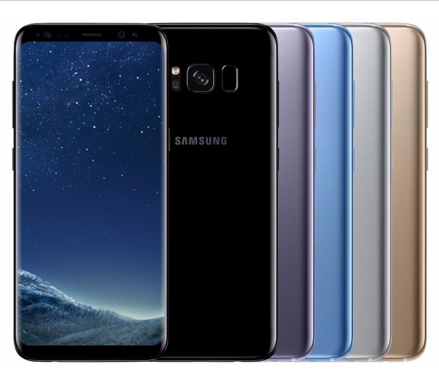 Refurbished Samsung Galaxy S8  64GB ROM+4GB RAM, 3500mAh,12+8MP, 5.8Inch  Dual sim Smartphone silver dual sim 2