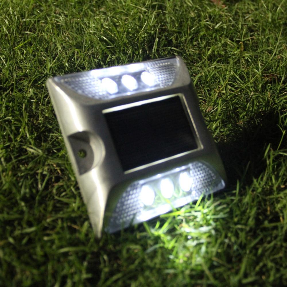 Außenbeleuchtung 2 Led Solar Boden Lampe Ip65 Wasserdichte Outdoor Garten Dekoration Landschaft Rasen Pfad Treppen Unterirdischen Begraben Nacht Licht Waren Jeder Beschreibung Sind VerfüGbar Solarlampen