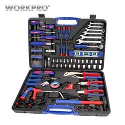 Conjunto de herramientas de reparación para el hogar de 139 piezas, juego de herramientas para el hogar, juego de destornillador