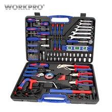 WORKPRO 139 шт. ремонт дома Набор инструментов для дома отвёртки набор