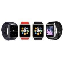Multifunktions Smartwatch Uhr-einsatz Sim Einbauschlitz Push-nachricht Bluetooth Kompatibel Verschiedenen Handy Smartwatch GT08