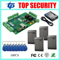 TCP/IP smart card door access control system two doors access control board door control system DHL free shipping