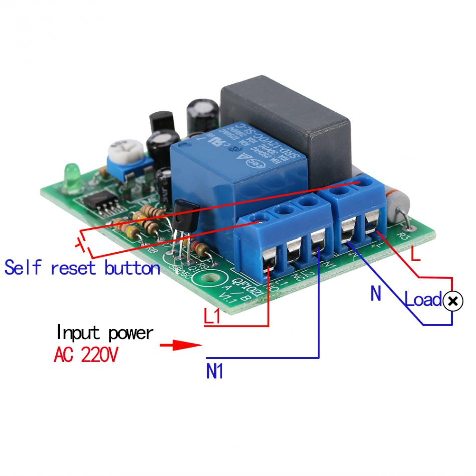 Delay Off Switch Module Ac220v Input Output Timer 110v 220v Light Dimmer Circuit With Active Reset 120v 5a Fan Variable Speed Three Gears Controller For Inline Hydroponics Fansusd 968 Piece