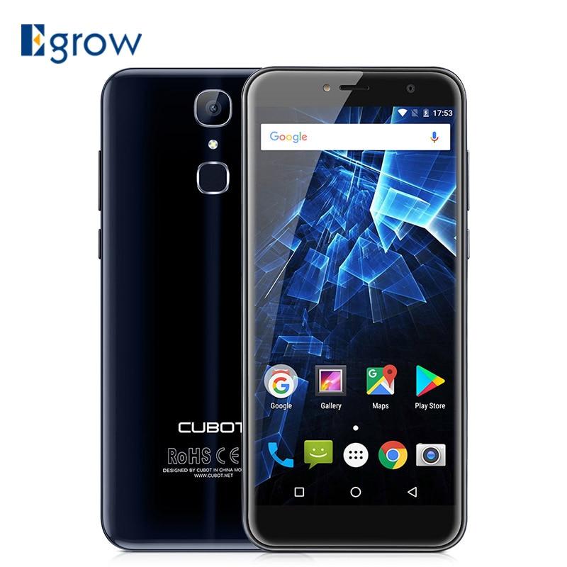 "Cubot X18 3GB RAM 32GB ROM 5.7"" 18:9 Edge-Less Screen Android 7.0 MT6737T Quad Core Smartphone 13MP Camera Fingerprint Cellphone"