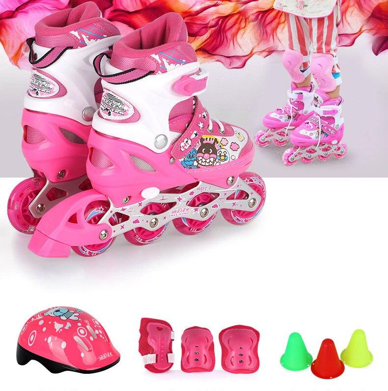 7a6e4787691 Nieuwe Stijl Kinderen Jongens en Meisjes Roller Skate Schoenen fit 3 16  Jaar in Nieuwe Stijl Kinderen Jongens en Meisjes Roller Skate Schoenen fit  3-16 Jaar ...