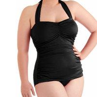 Plus Size Halterneck Maternity Swimwear Tankini Set Pregnant Women Swimsuit One Pieces Under Wired Pregnancy Beach