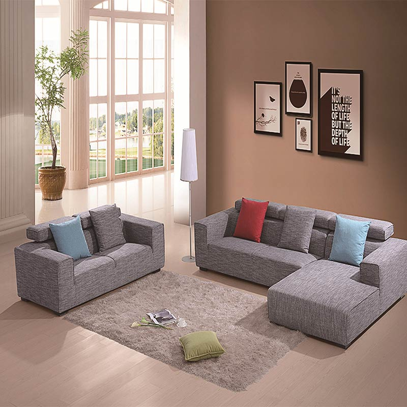 Living Room Fabric Sofas: Tufted Back Fabric Queen Sleeper Sofa Fabric Sectional