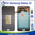 Preto para samsung galaxy j3 j320 j320a j320f j320m j320p J320Y 2016 LCD Screen Display Touch com Digitador Assembléia + ferramentas