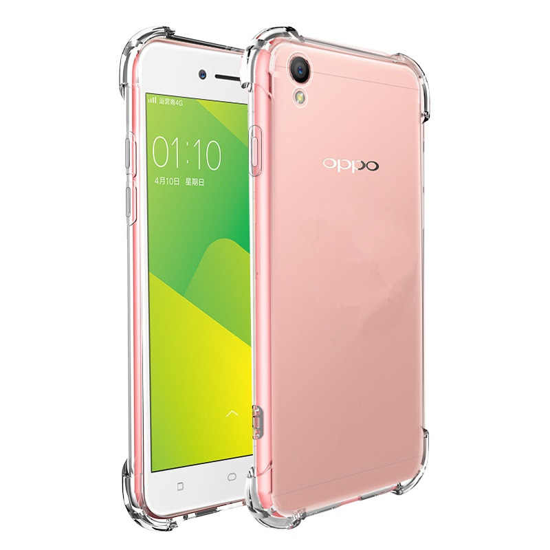 156245e32c ... Realme 2 Cases for OPPO Realme 1 2 Case Transparent Soft Clear Airbag  Anti-shock ...