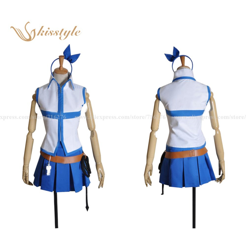 """Kisstyle Fashion Fairy Tail Lucy Heartfilia"" ""Cosplay"" kostiumas, pritaikytas"