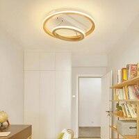 Luz de teto Overhead anel luminária redonda circular luzes de suspensão para home quarto escurecimento novo design Moderno conduziu a lâmpada do teto|Luzes de teto| |  -