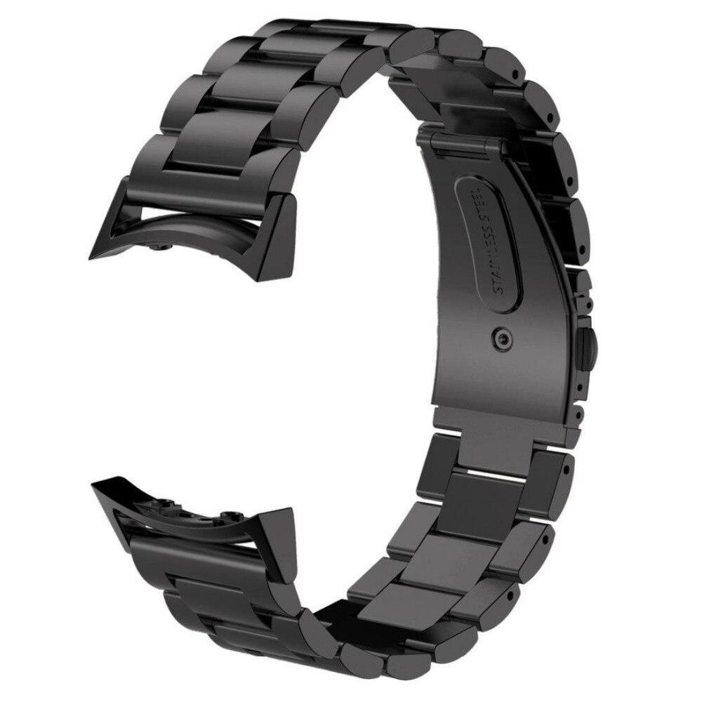 Samsung Gear S2 Watch Band con connettore adattatore, in Acciaio Inox Metallo Sostituzione Smart Watch Band Bracciale per Samsung S2