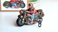 Retro clockwork tin toys Classic clockwork tin two single motorcycle Collection