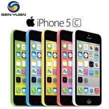 Apple iPhone 5C разблокированный двухъядерный мобильный телефон 8 ГБ/16 ГБ/32 ГБ rom WCDMA 3g б/у телефон