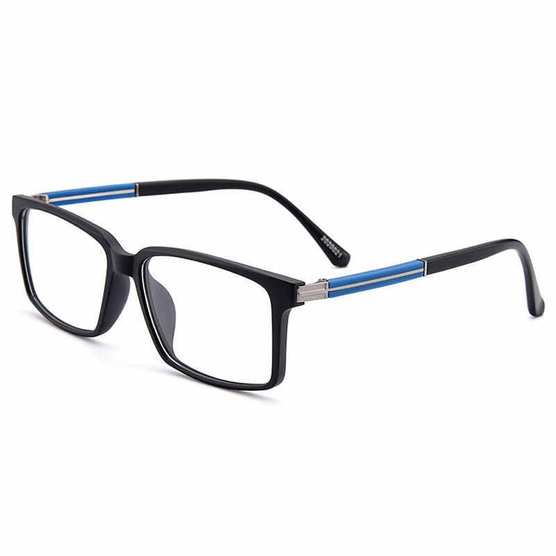 Gmei Optical Stylish Urltra-Light TR90 Rectangular Full Rim Men Optical Eyeglasses Frames Women Myopia Presbyopia Eyewear M20200