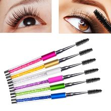 1PCS Durable Eyelash Brush Comb Lash Separator Mascara Lift Curl Metal Beauty Makeup Tool