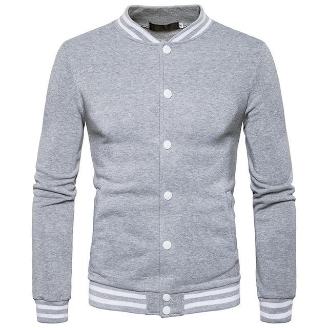 22961dd31b09 Fashion Men Moletom Masculino Men Button Hip Hop Mens Solid Hooded Slim  Tracksuit Hoodie Sweatshirt Slim