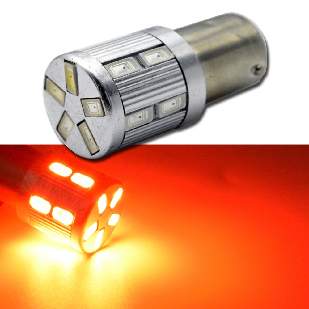 2pcs AC12V 1157 BAY15D P21/5W High Power 5630 smd led 21/5w car brake Lights Source parking lamp auto Tail Bulb red white amber