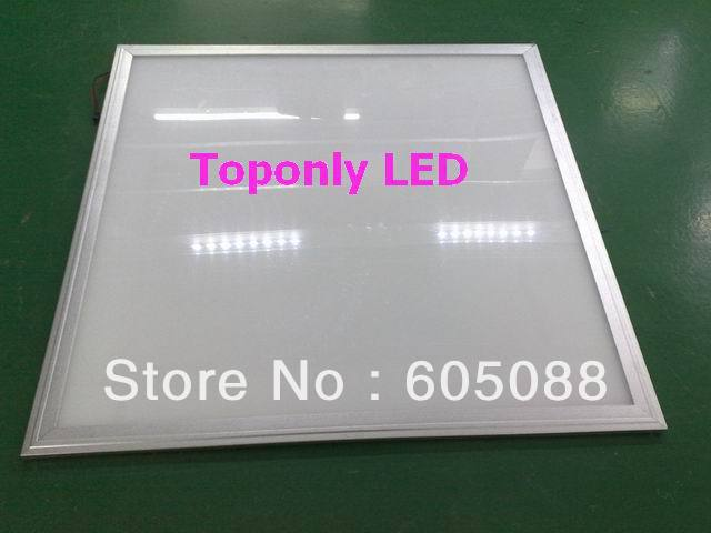 36w led ceiling panel lamp 600x600 AC85-265V super bright 3240lm white color CRI>80 no flicker embeded 10pcs/lot by cheap price