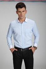 Фотография Men Shirt Mens Business Casual Shirts 2018 New Arrival Men Famous Brand Clothing Plaid Long Sleeve Camisa Masculina