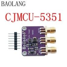 CJMCU-5351 Si5351A Si5351 Bordo de Fuga 8 KHz I2C Controlador Gerador de Clock de 25 MHZ a 160 MHz 3-5VDC Para Arduino IDE